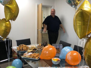 Chris Birthday at MAN Commercial Protection